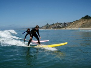 summer surf camps - Santa Cruz, CA