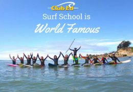 Club Ed Surf School is World Famous