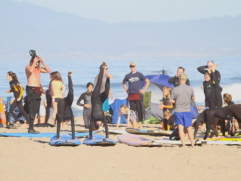 Surf camp - Surfing - Santa Cruz, CA