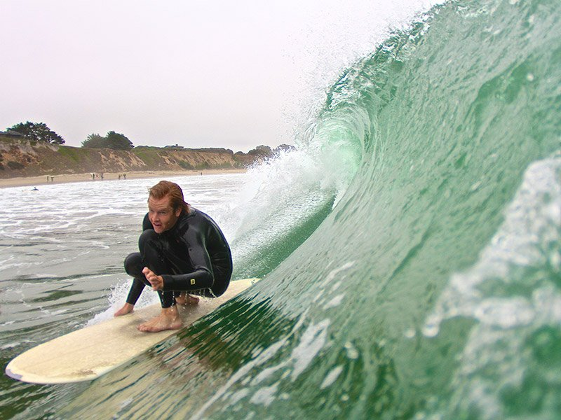surfing santa cruz - CA
