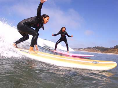 Surf Lessons Club ed Santa Cruz